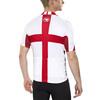 Endura CoolMax England II Kortærmet cykeltrøje Herrer rød/hvid